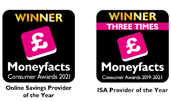 Charter Savings Bank is Online Savings Provider of the Year and ISA Provider of the Year 2021!