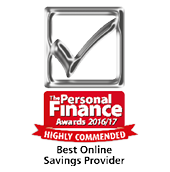 Highly Commended Best Online Savings Provider